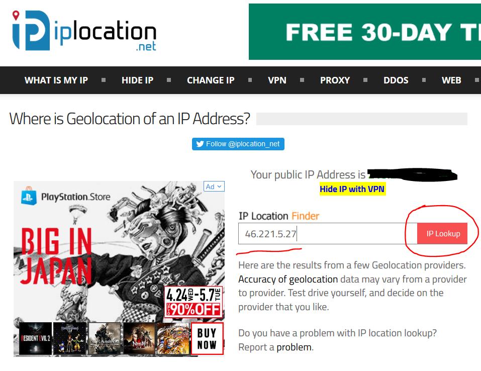 Cara Mengetahui Lokasi IP Address